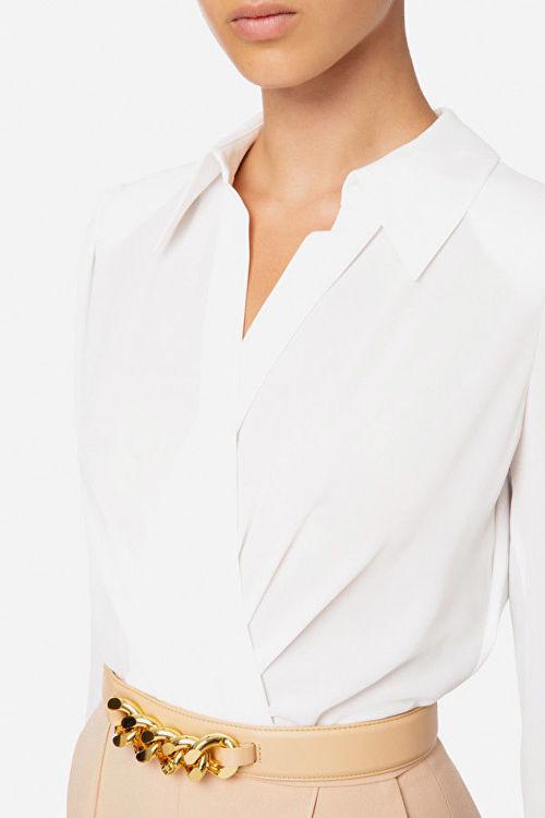 Immagine di Tuta combinata pantalone e camicia incrociata Elisabetta Franchi