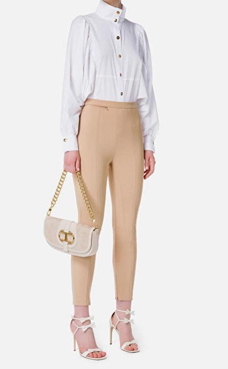 Immagine di Camicia di cotone con manica ampia Elisabetta Franchi