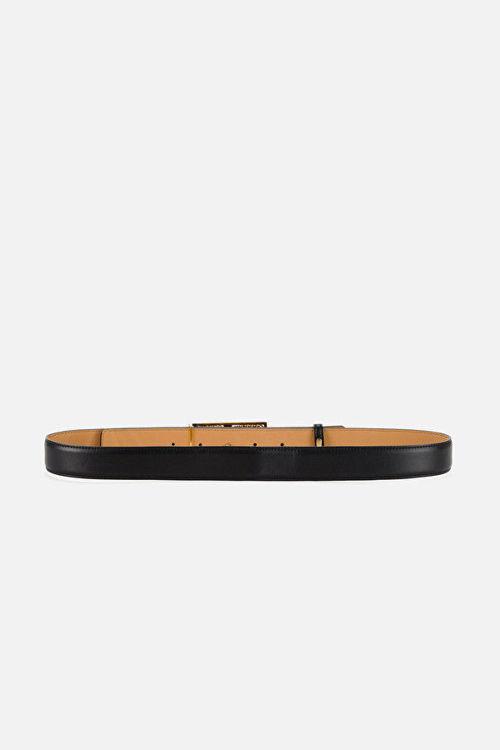 Immagine di Cintura con logo e lucchetto pendente Elisabetta Franchi