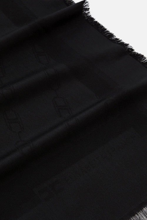 Immagine di Sciarpa jaquard stampa catena rettangolare Elisabetta Franchi