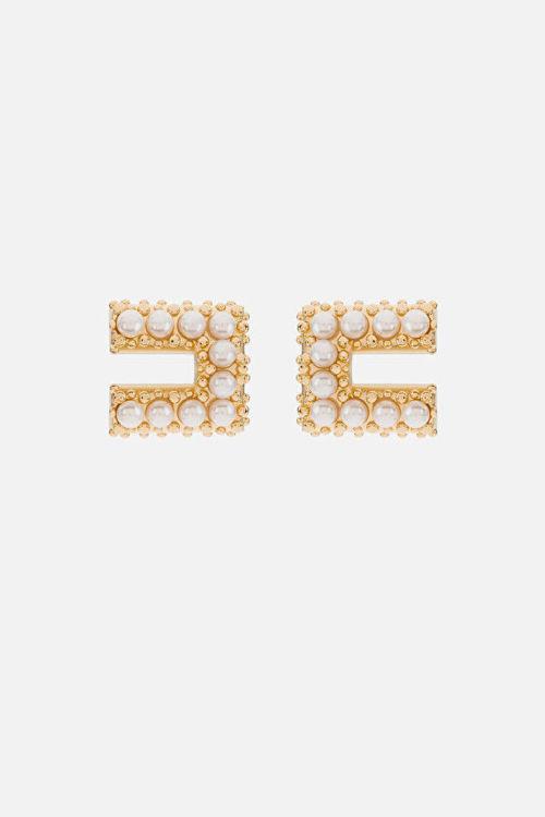 Immagine di Orecchino Elisabetta Franchi con perle Elisabetta Franchi