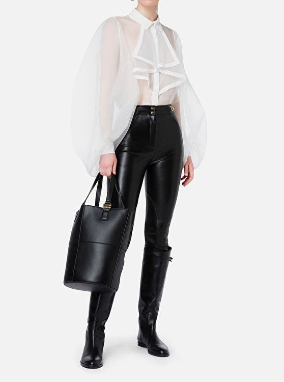 Immagine di Pantalone stretch con pences Elisabetta Franchi