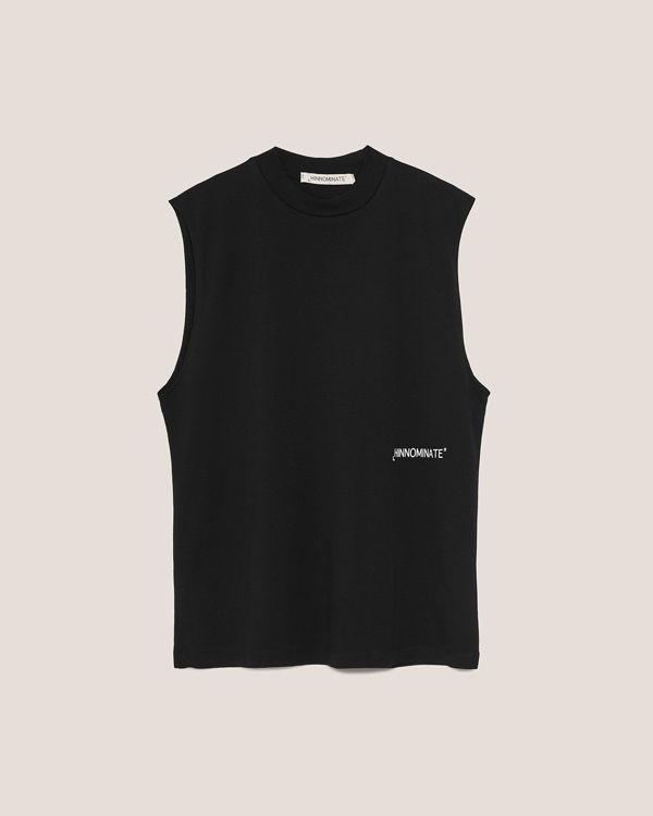 Immagine di T-shirt in Jersey smanicata con stampa Hinnominate