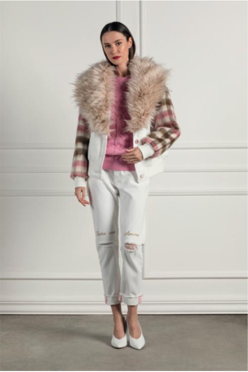 Immagine di Pantalone con ricamo Giulia N