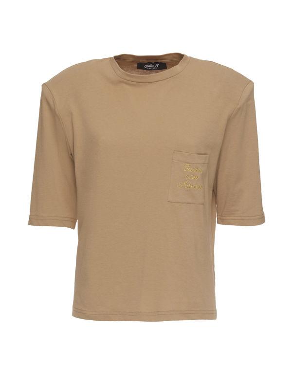Immagine di T-shirt con ricamo Giulia N